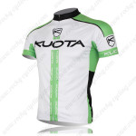 2013 Team KUOTA Biking Jersey White Green
