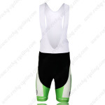 2013 Team KUOTA Cycling Bib Shorts White Green