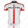 2013 Team KUOTA Cycling Jersey White Red