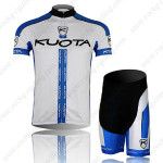 2013 Team KUOTA Cycling Kit White Blue