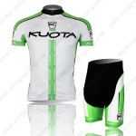 2013 Team KUOTA Cycling Kit White Green