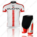 2013 Team KUOTA Cycling Kit White Red