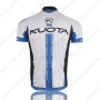 2013 Team KUOTA Riding Jersey White Blue