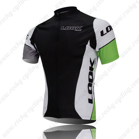2013 Team LOOK Cycle Wear Biking Maillot Jersey Tops Shirt Black ... 34269e8fe