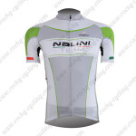 2013 Team NALINI Cycling Jersey Grey Green