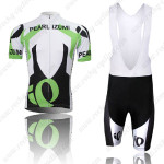 2013 Team PEARL IZUMI Cycling Bib Kit White Black Green