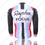 2013 Team Rapha FOCUS Biking Long Jersey Black