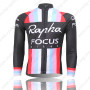 2013 Team Rapha FOCUS Cycling Long Jersey Black