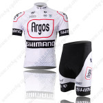 2014 Argos SHIMANO Cycling Set White