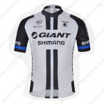 2014 GIANT Cycling Jersey White Black