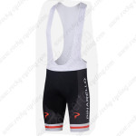 2014 PINARELLO Cycling Bib Shorts Black Red