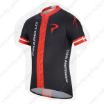 2014 PINARELLO Cycling Jersey Black Red