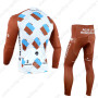 2014 Team AG2R LA MONDIALE Bicycle Long Kit