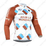 2014 Team AG2R LA MONDIALE Cycling Long Jersey