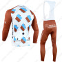 2014 Team AG2R LA MONDIALE Riding Long Bib Kit