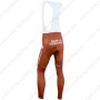 2014 Team AG2R LA MONDIALE Riding Long Bib Pants