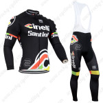 2014 Team Cinelli Santini Cycling Long Bib Kit