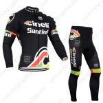 2014 Team Cinelli Santini Cycling Long Kit