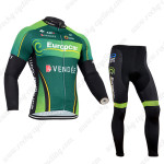 2014 Team Europcar Cycle Long Kit Green