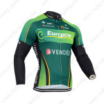 2014 Team Europcar Cycling Long Jersey Green