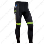 2014 Team Europcar Cycling Long Pants Green Black