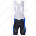 2014 Team FOX Cycling Bib Shorts Blue