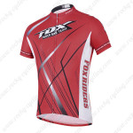 2014 Team FOX Cycling Jersey Red