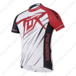 2014 Team FOX Cycling Jersey White Red