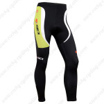 2014 Team SIDI Bicycle Long Pants Green Black
