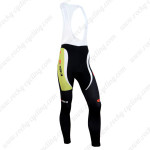 2014 Team SIDI Cycling Long Bib Pants Green Black