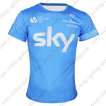 2014 Team SKY Cycling T-shirt Blue