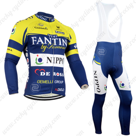 2014 Team VINI FANTINI NIPPO Pro Biking Wear Cycle Long Jersey and ... aefdf99e6