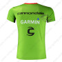 2015 Team Cannondale GARMIN Bicycle Outdoor Sport Apparel Sweatshirt Round Neck T-shirt Green