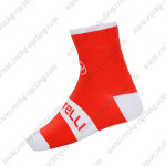 2015 Team Castelli Cycling Socks Red White