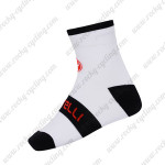 2015 Team Castelli Cycling Socks White Black2015 Team Castelli Cycling Socks White Black