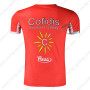 2015 Team Cofidis Riding Outdoor Sport Outfit Sweatshirt Round Neck T-shirt Red
