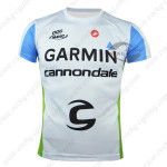 2015 Team GARMIN Cannondale Riding Outdoor Sport Clothing Sweatshirt Round Neck T-shirt White