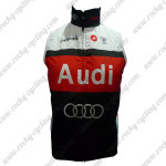 2011 Audi Cycling Vest Sleeveless Waistcoat Rain-proof Windbreak