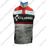 2012 Team CUBE Cycling Vest Sleeveless Waistcoat Rain-proof Windbreak