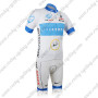 2012 Team LIVESTRONG Bicycle Kit White Blue