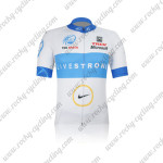 2012 Team LIVESTRONG Cycling Jersey White Blue