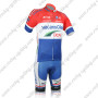 2012 Team Vacansoleil DCM Bicycle Kit Red White Blue