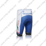 2012 Team Vacansoleil DCM Cycling Shorts White Blue