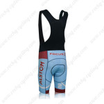 2013 Team AG2R LA MONDIALE ALSOM Biking Bib Shorts Blue Red