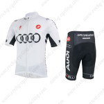 2013 Team AUDI Cycling Kit White