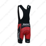 2013 Team BMC Switzerland Biking Bib Shorts Red Black