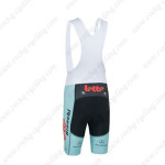 2013 Team Bianchi LOTTO Cycling Bib Shorts Blue