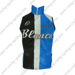 2013 Team Blanco GIANT Cycling Vest Sleeveless Waistcoat Rain-proof Windbreak Blue Black