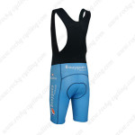 2013 Team Bouygues Biking Bib Shorts Blue