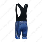 2013 Team CONTADOR Biking Bib Shorts Blue